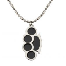 Attractive Big Paw Hip Hop Locket with 24'' Metallic Beaded Ball Chain