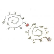 Combo of Two Proud Princess German Silver Anklets