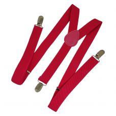 Hot Pink Unisex Party Suspenders