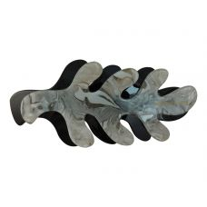 Mineral Stone Pattern Black-Grey Exclusive Hair Clip for Women