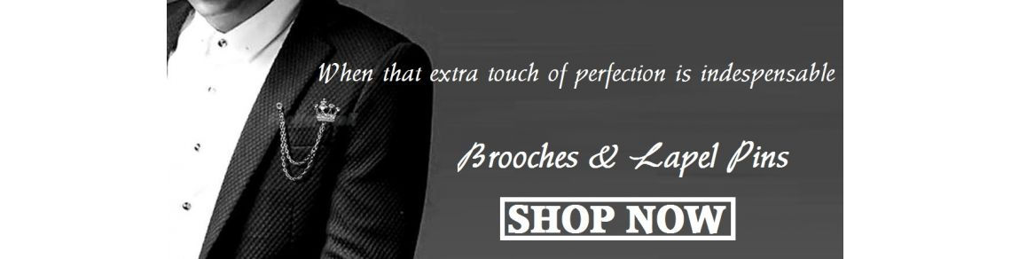 Brooches, Shirt Studs & Lapel Pins