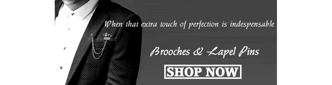 Brooches, Shirt Studs & Lapel Pins