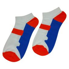 Tangy Twist Pair of Combed Cotton Ankle Socks for Men