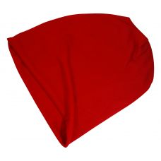 Solid Fire Red  High Quality Synthetic Fibre Beanie