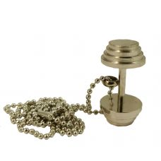 Big Electro Finish Dumbbell Pendant  for Men