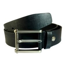 100% Genuine Leather Premium Executive Black Belt for Men
