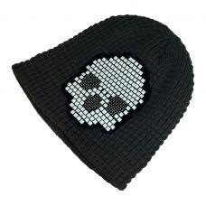Tetris Skull PatternGrey Beanie  & skull cap / Unisex beanie