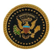 Seal Of the President of USA Badge Lapel Pin Shirt Stud for Men