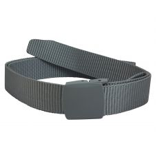 Silver Grey Box Buckle Exclusive No Metal High Quality Nylon-Canvas Belt for Men