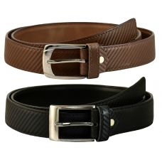 Exclusive Combo of Black and Brown 2 Formal Belts