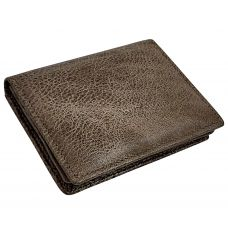 Tree Trunk Brown Minimalist Luxury Genuine Leather Credit Card Visiting Card Holder