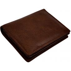 Chocolate Brown Minimalist Luxury Genuine Leather Credit Card Visiting Card Holder