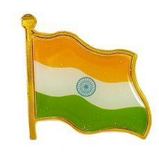 Indian Flag Brooch Lapel Pin Unisex