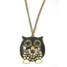 Owl Dynasty-Miami Mafia Pendant Necklace for Women