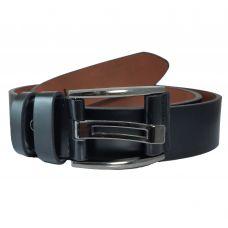 Ammvi Creations Macho Buckle Black PU Leather Belt For Men